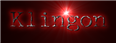 Font McGarey Klingon Logo Preview