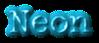 Font McGarey Neon Logo Preview