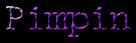 Font McGarey Pimpin Logo Preview