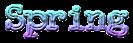 Font McGarey Spring Logo Preview