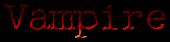 Font McGarey Vampire Logo Preview