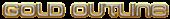 Font MetroDF Gold Outline Logo Preview