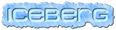 Font MetroDF Iceberg Logo Preview