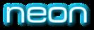 Font MetroDF Neon Logo Preview