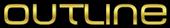 Font MetroDF Outline Logo Preview