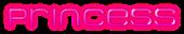Font MetroDF Princess Logo Preview