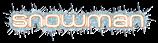 Font MetroDF Snowman Logo Preview
