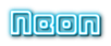 Font Metropolitan Demo Neon Logo Preview