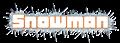 Font Metropolitan Demo Snowman Logo Preview