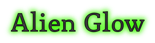 Font Mido Alien Glow Logo Preview
