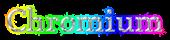 Font Mido Chromium Logo Preview
