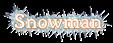 Font Mido Snowman Logo Preview