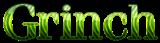 Font 特明體繁 Ming Heavy Grinch Logo Preview