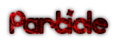 Particle Logo Style