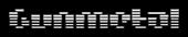 Font Moog Boy Gunmetal Logo Preview