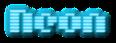 Font Moog Boy Neon Logo Preview