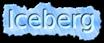 Font Mothanna Iceberg Logo Preview
