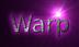 Font Mothanna Warp Logo Preview