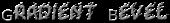 Gradient Bevel Logo Style