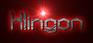 Font Mysterons Klingon Logo Preview