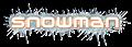 Font Negative 24 Snowman Logo Preview