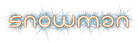 Font Neo Geo Snowman Logo Preview