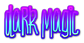 Dark Magic Logo Style