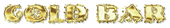 Font NervouzReich Gold Bar Logo Preview