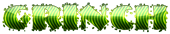 Font NervouzReich Grinch Logo Preview