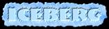 Font NervouzReich Iceberg Logo Preview