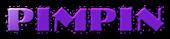 Font NervouzReich Pimpin Logo Preview