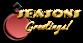 Font NervouzReich Seasons Greetings Logo Preview
