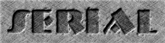 Font NervouzReich Serial Logo Preview