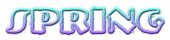Font NervouzReich Spring Logo Preview