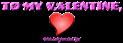 Font NervouzReich Valentine Symbol Logo Preview