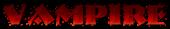 Font NervouzReich Vampire Logo Preview