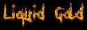 Font Ninja Penguin Liquid Gold Logo Preview