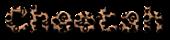 Font NotCourierSans Cheetah Logo Preview