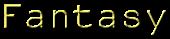 Font NotCourierSans Fantasy Logo Preview