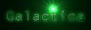 Font NotCourierSans Galactica Logo Preview