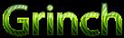 Font NotCourierSans Grinch Logo Preview