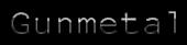 Font NotCourierSans Gunmetal Logo Preview
