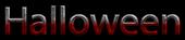 Font NotCourierSans Halloween Logo Preview