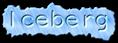 Font NotCourierSans Iceberg Logo Preview