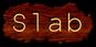 Font NotCourierSans Slab Logo Preview