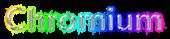 Font Nunito Chromium Logo Preview