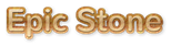 Font Nunito Epic Stone Logo Preview