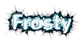 Font Nunito Frosty Logo Preview
