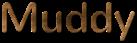Font Nunito Muddy Logo Preview