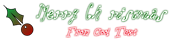 Font Ooolala Christmas Symbol Logo Preview